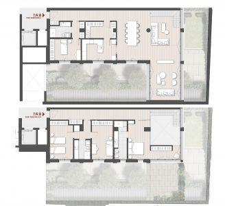 Appartamento su due piani Town House TR B Via Varese 10 Milano