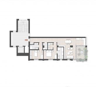 Appartamento Trilocale 1B Via Varese 10 Milano
