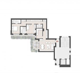 Appartamento Trilocale 1E Via Varese 10 Milano