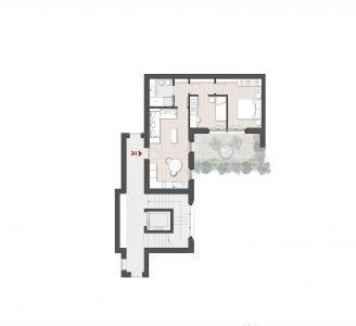 Appartamento Trilocale 2H Via Varese 10 Milano