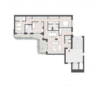 Appartamento Plurilocale 3C Via Varese 10 Milano